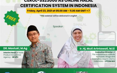 INTRODUCTION of SIHALAL & UPDATE of CEROL-SS23000 AS ONLINE HALAL CERTIFICATION SYSTEM IN INDONESIA